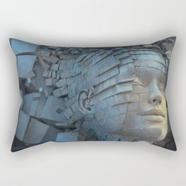 Dissolution of Ego Rectangular Pillow