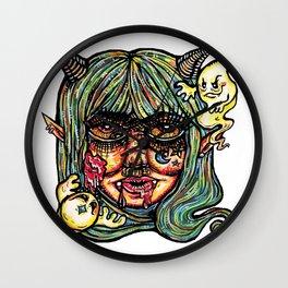 Haunted Lil Devil Wall Clock