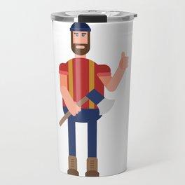 Encouraging Lumberjack Travel Mug