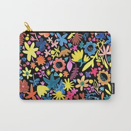 Autumm´s flowers and black Carry-All Pouch