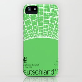 World Cup: West Germany 1974 iPhone Case