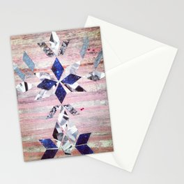 Reflecting on these Stars Stationery Cards