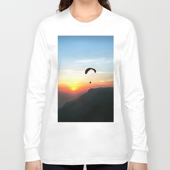 Sunset Paraglide Long Sleeve T-shirt