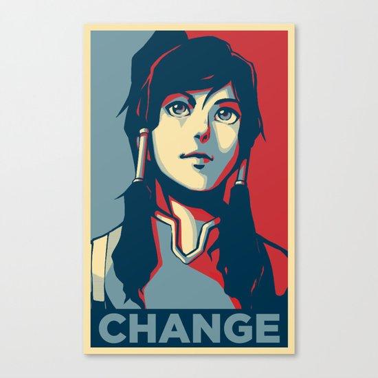 Avatar Changes Canvas Print