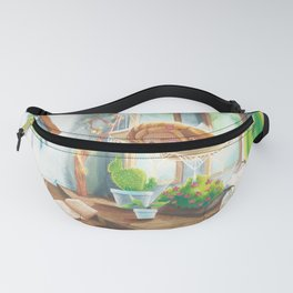 Sleeping in the Sunshine Fanny Pack