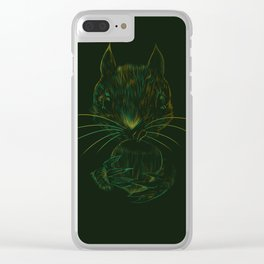 Squirrel Clear iPhone Case
