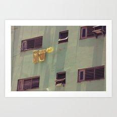 hanging Art Print