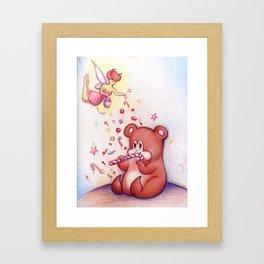 How to Keep a Beary Framed Art Print