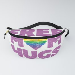 Free Mom Hugs, Free Mom Hugs Rainbow Gay Pride Fanny Pack