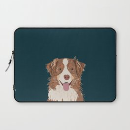 Hollis - Australian Shepherd gifts for dog owners pet lovers dog people gifts for dog person Laptop Sleeve