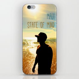 Beachin - Maui State of Mind iPhone Skin