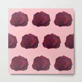 I'm Feeling Rosy Metal Print