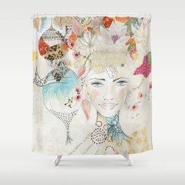 Unfold Shower Curtain
