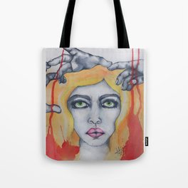 manipulated Tote Bag