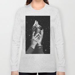 Heart says hold on Long Sleeve T-shirt