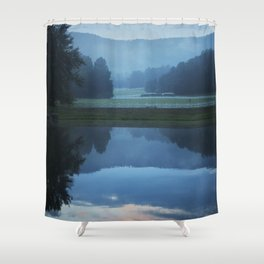Sunset in the Great Smoky Mountains Shower Curtain