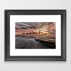 Garie Beach  Framed Art Print
