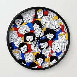 Fashion pattern Wall Clock