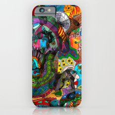 Every thought can change the day when let out in joyful play Slim Case iPhone 6s