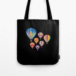 Hot Air Balloon Balloning Tote Bag