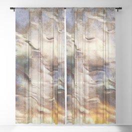 Autumn Skyscape #buyart #society6 #landscape Sheer Curtain