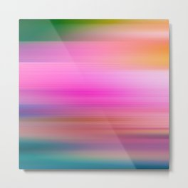 Blurred colours Metal Print