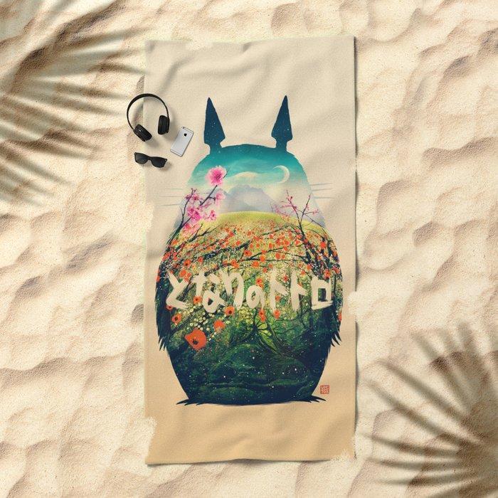 Forest Dream Beach Towel