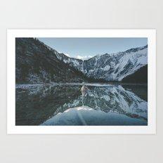 Lapras Lake Art Print