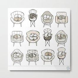 Cozy Home Metal Print