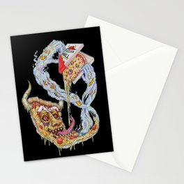 Death To False Pizza! Stationery Cards