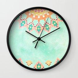 FESTIVAL VIBES -CALI SUMMER Wall Clock