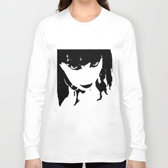 Abstract Face 4 Long Sleeve T-shirt