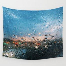 Evening Rainfall Wall Tapestry