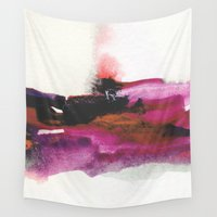 georgiana paraschiv Wall Tapestries featuring Unravel by Georgiana Paraschiv