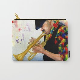 The Colors of Jazz Carry-All Pouch