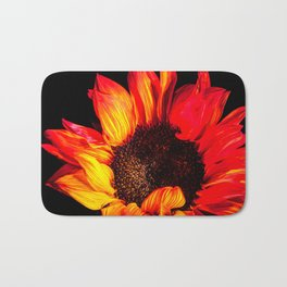 Burst of flames Bath Mat