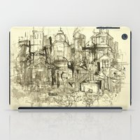 buildings iPad Cases featuring graphic buildings by Nechifor Ionut