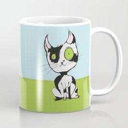 Cute black and white cat Coffee Mug