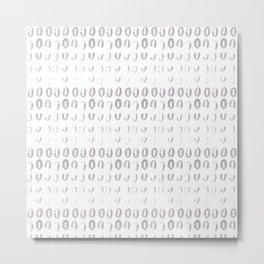 null pattern Metal Print
