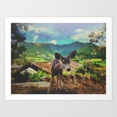 Pippin Art Print