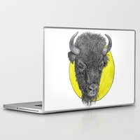 bison Laptop & iPad Skins featuring Bison by Triple_S_Art