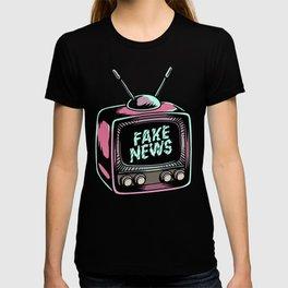 Fake News Illustration T-shirt