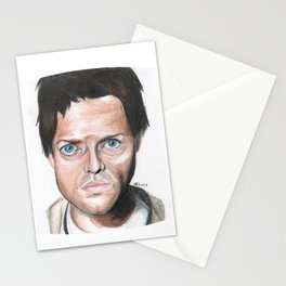 Castiel (Misha Collins) Drawing Stationery Cards