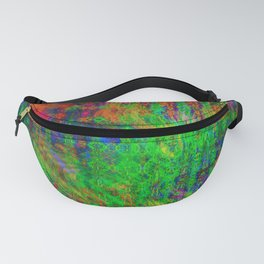 Exploded Pattern Fanny Pack