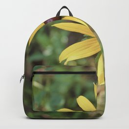 Vintage Yellow Flower Backpack