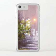 Sunset in the City Clear iPhone Case