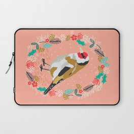 European goldfinch by Andrea Lauren  Laptop Sleeve