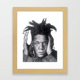 Jean-Michel Basquiat Drawing Framed Art Print