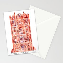 Hawa Mahal – Palace of the Winds in Jaipur, India Stationery Cards