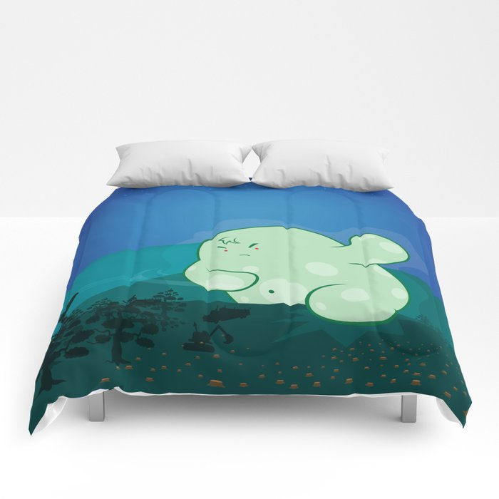 Revenge of the forest guardian Comforters